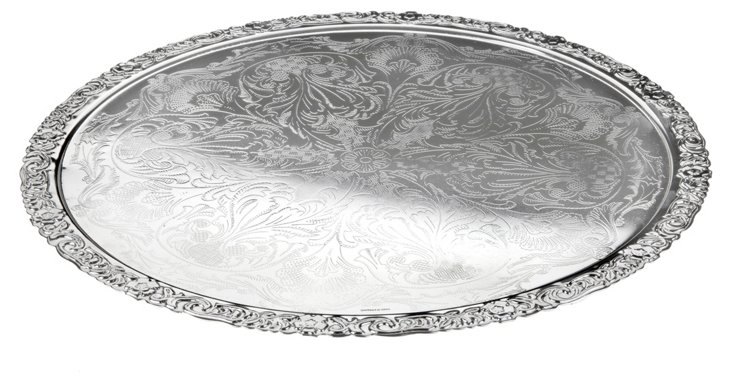 Silver-Plated Charger