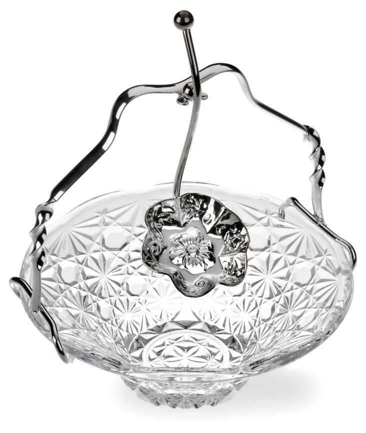 Silver-Plated Royal Party Set w/ Handle