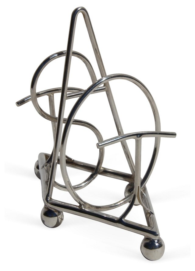 """Silver-Plated """"Toast"""" Rack"""