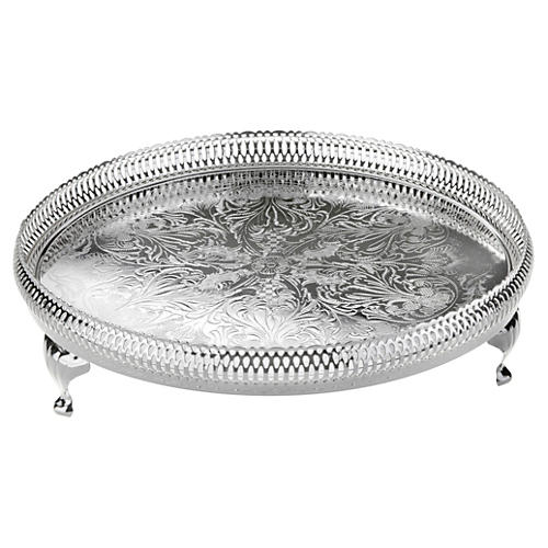 Round Gallery Tray