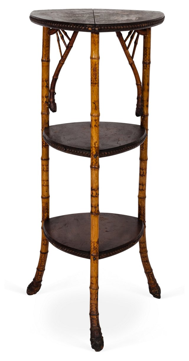 Antique Bamboo Stand