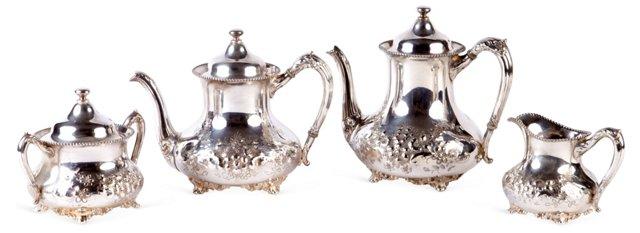 Reed & Barton Victorian Coffee/Tea Set
