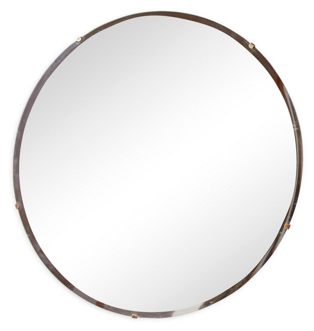 Round Frameless Mirror I