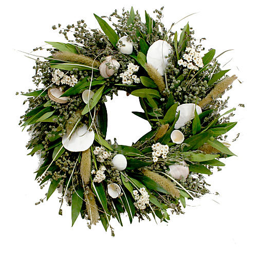 "18"" Seashore Wreath, Dried"