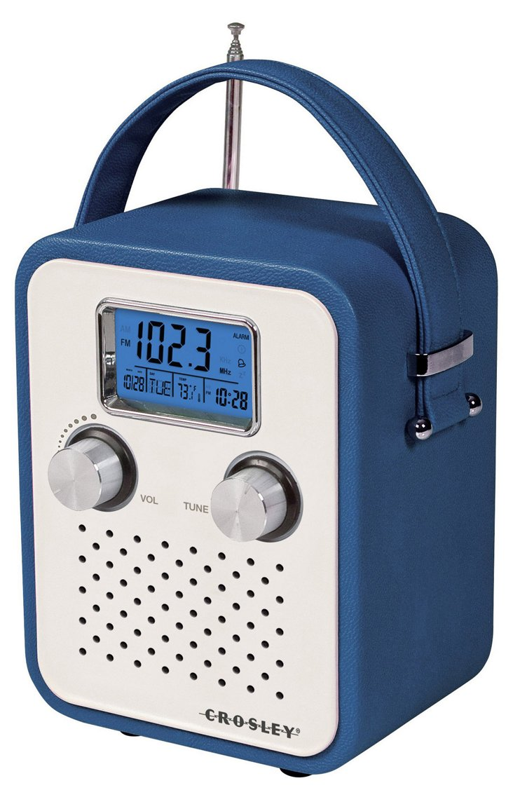 Songbird Portable Radio, Blue