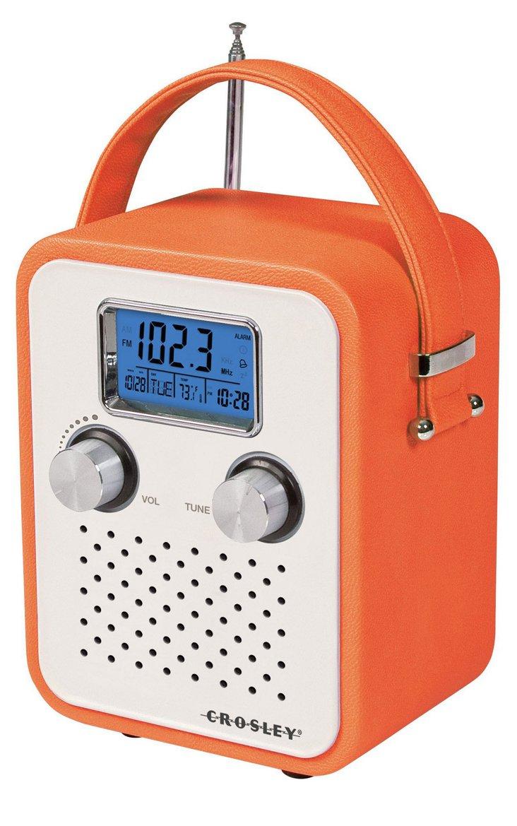Songbird Portable Radio, Orange