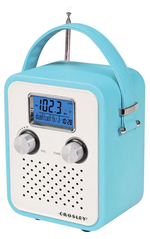 Songbird Portable Radio, Turquoise