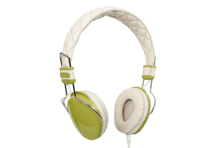 Amplitone Headphones, Green