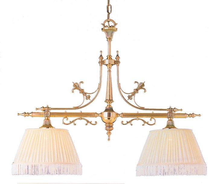 Duvall Island Light, Polished Brass