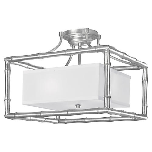 Masefield 3-Light Ceiling Mount, Silver