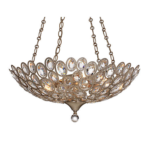 Sterling 5-Light Chandelier, Gold