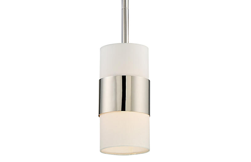 Grayson Light Pendant, Nickel
