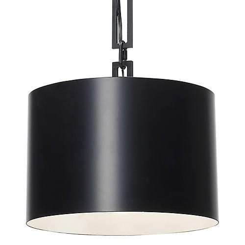 Alston Pendant, Matte Black