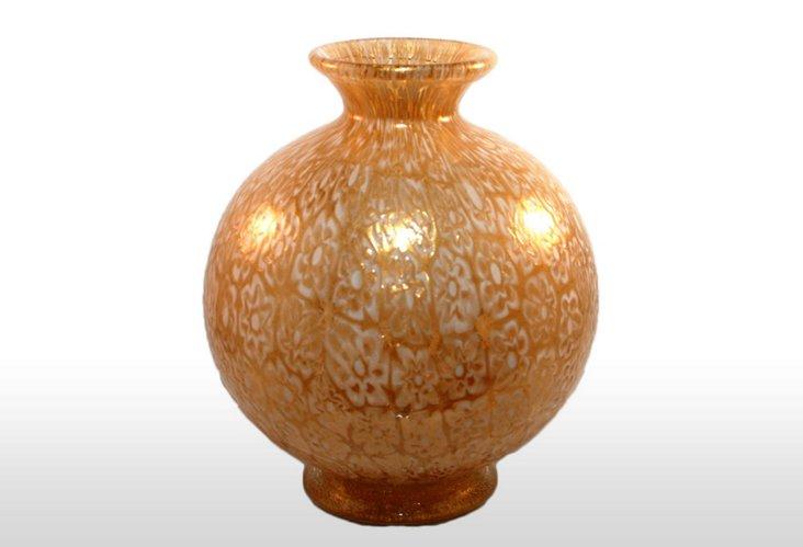 Murano Vase, Gold