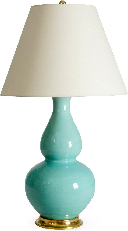 Aurora Lamp, Pale Blue Green