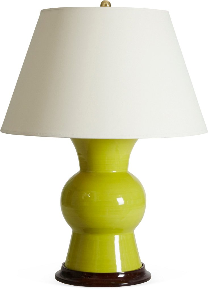 Gregory Lamp, Apple Green