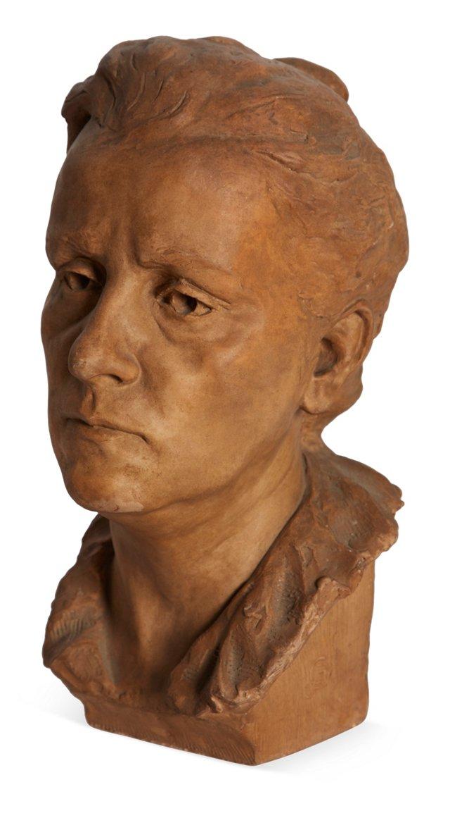Antique Terracotta Head