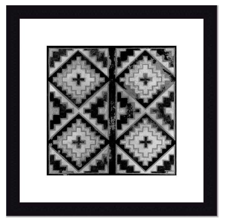 Mudcloth Black & White IV