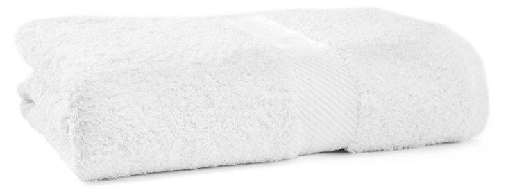 Rhapsody Royale Bath Towel, White