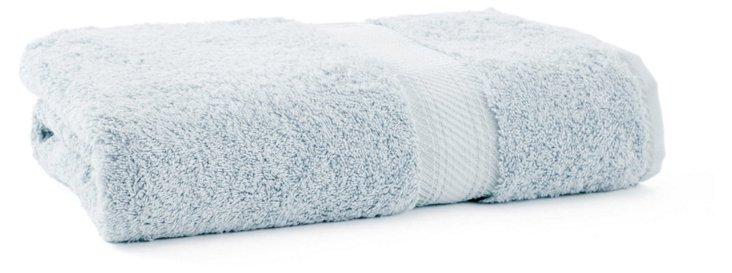 Rhapsody Royale Bath Towel, Duck Egg