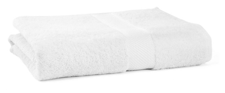 Rhapsody Royale Bath Sheet, White