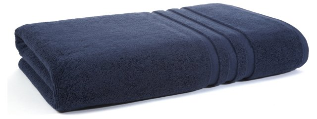 Irvington Bath Sheet, Navy