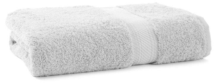 Rhapsody Royale Bath Towel, Silver