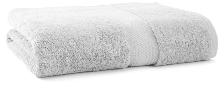 Rhapsody Royale Bath Sheet, Silver