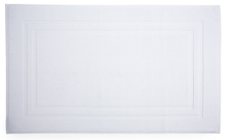 Irvington Bath Mat, White