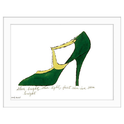 Andy Warhol, Shoe Bright