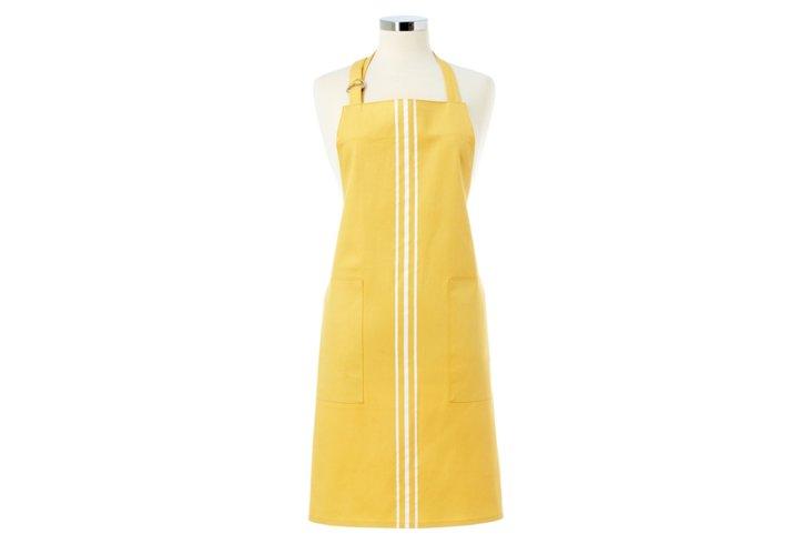 Cotton Apron, Yellow