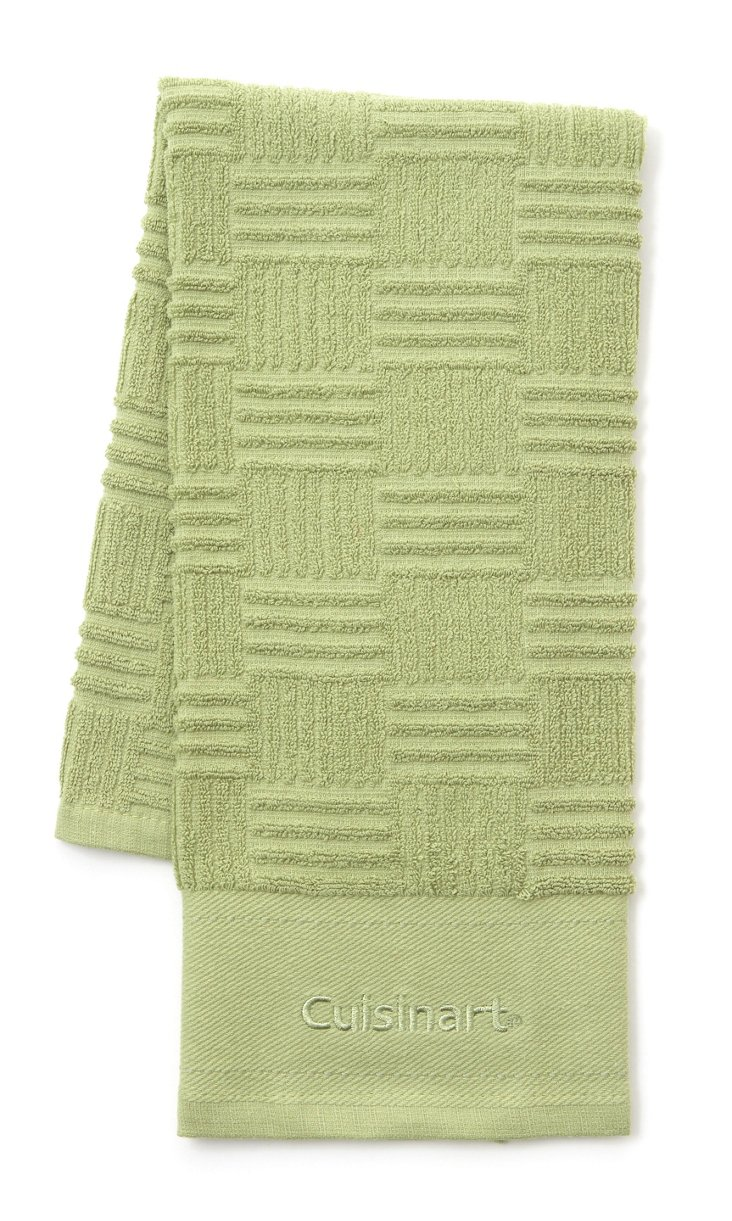 S/3 Kitchen Towels, Green