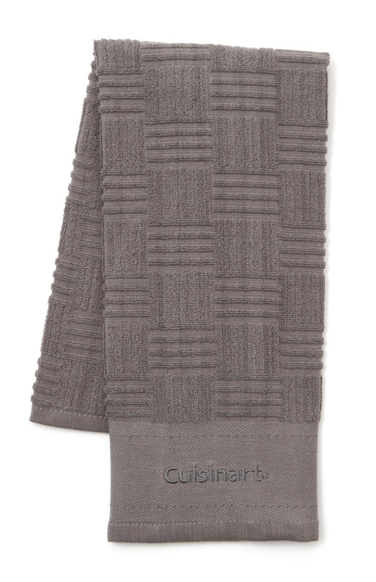 S/3 Kitchen Towels, Gray