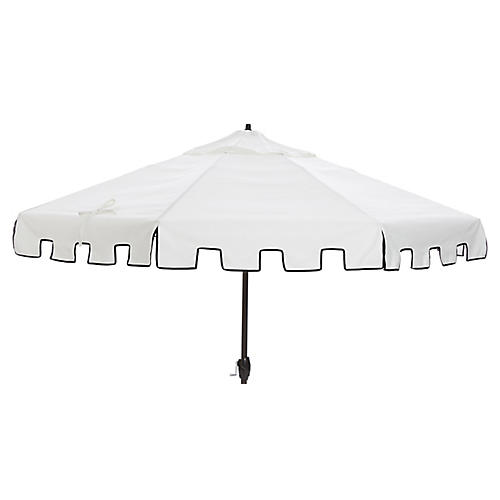 Nina Patio Umbrella, White