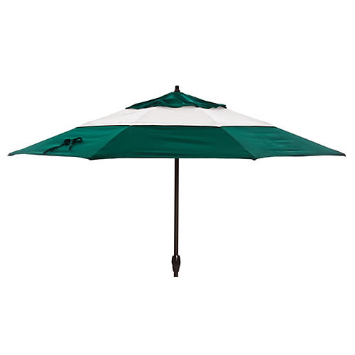 Meaghan Patio Umbrella, Green
