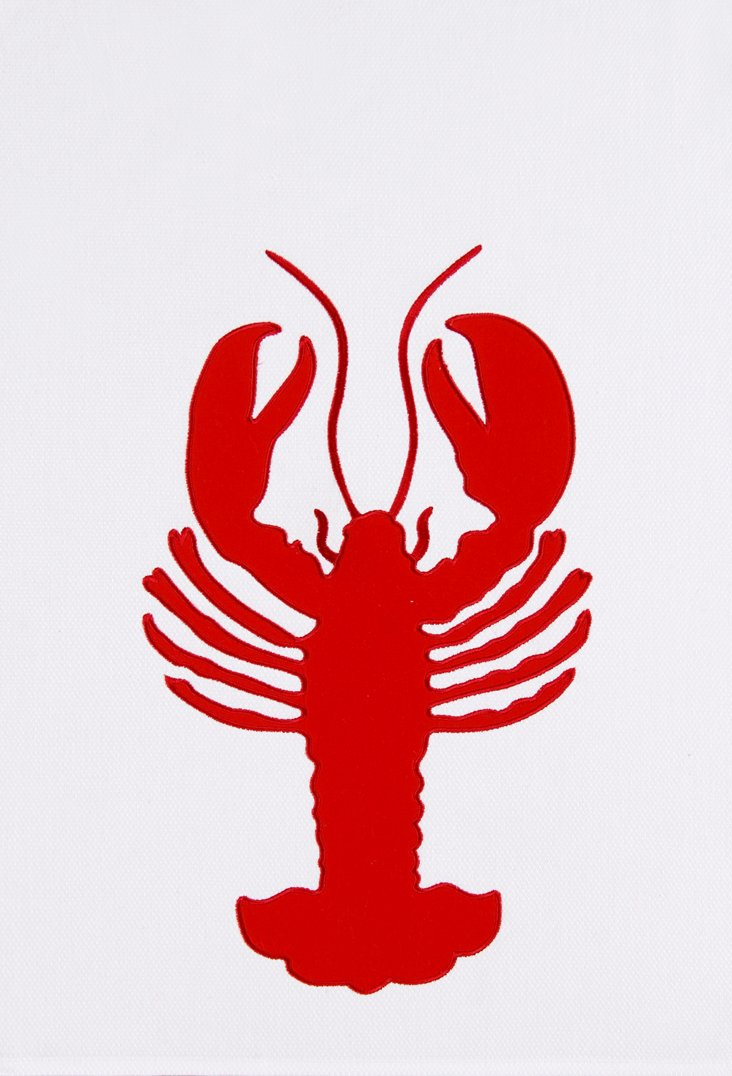 S/2 Lobster Kitchen Towels