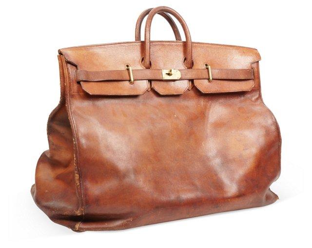 1920s Hermès Haut à Courroies Travel Bag