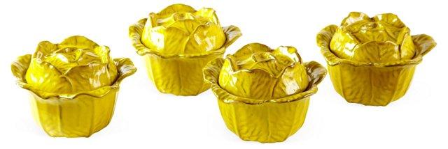 Rosenthal Netter Bowls w/ Lids, Set of 4