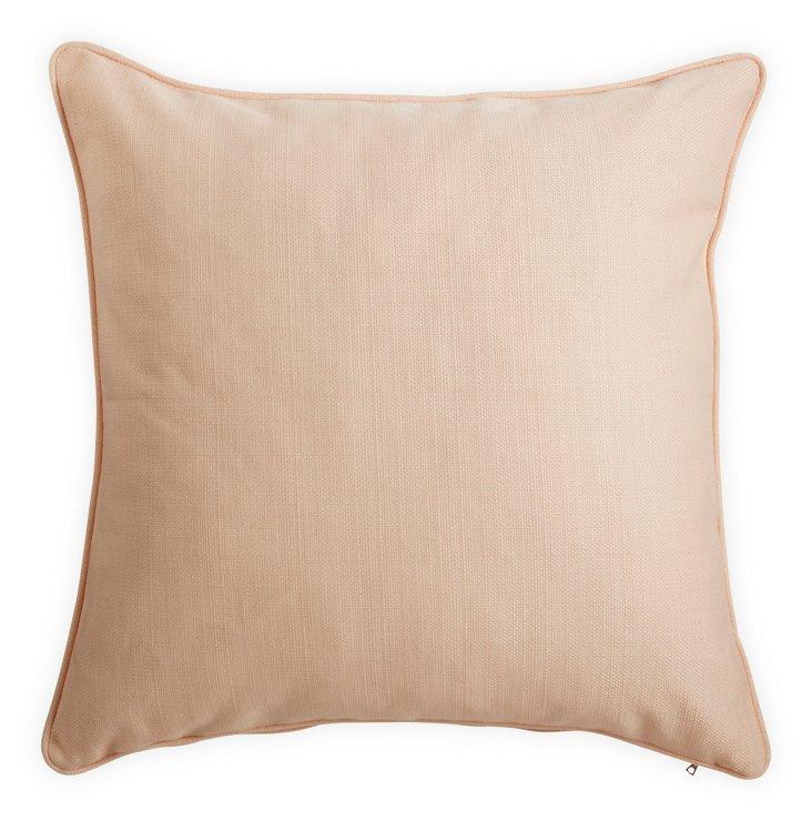 Seagrass Petal-Pink Pillow