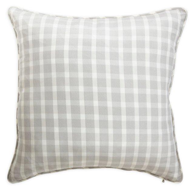 Gray Glen Plaid Pillow