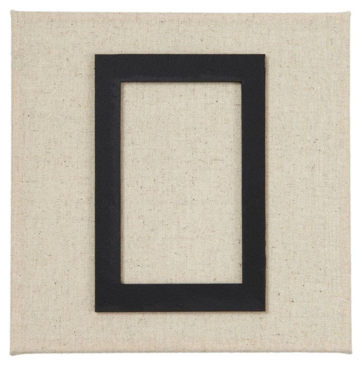 Fabric Magnetic Photo Frame