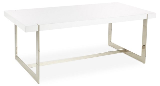 Linus Coffee Table, White