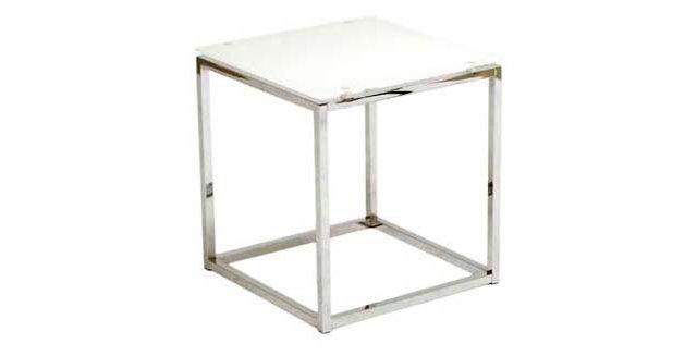 Sandor Glass Side Table