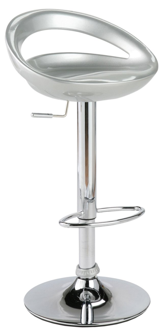 Emette Bar & Counter Stool, Silver