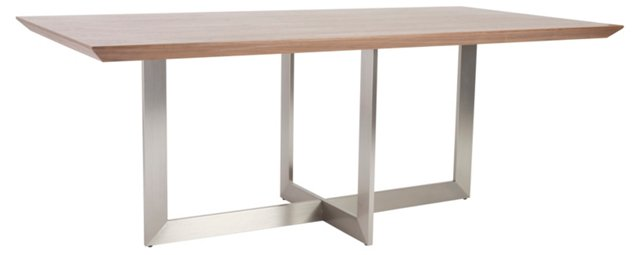 "Tosca 79"" Dining Table, Walnut"