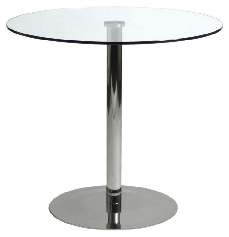 Ava Glass Bistro Table