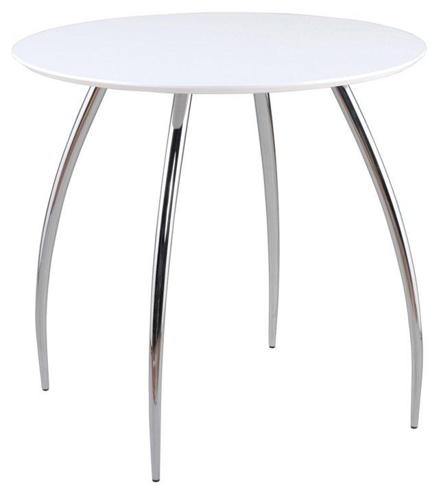 Bistro Table, White