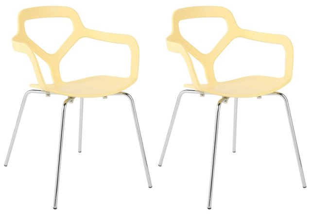 Butter Grace Side Chairs, Set of 4