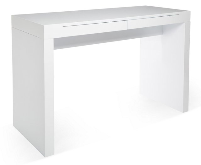 Lauren Desk, White