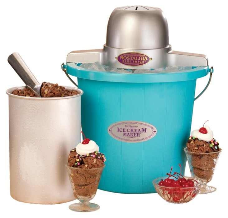 Old-Fashioned Ice Cream Maker